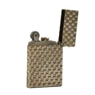 Tiffany & Co. Sterling Silver Flint Wheel Lighter