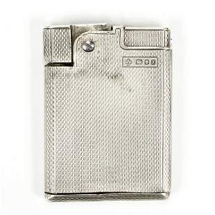 Rare Asprey Solid Sterling Silver Gas Lighter