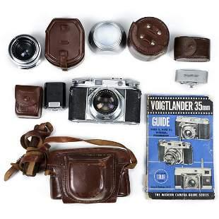 Voigtlander Prominent Camera Body & Accessories