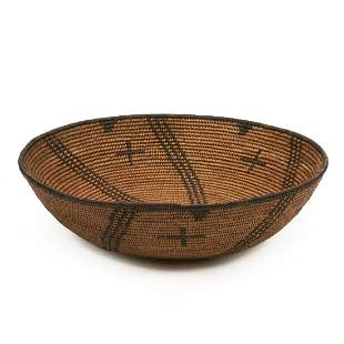 Apache SW Native American Fine Woven Basket