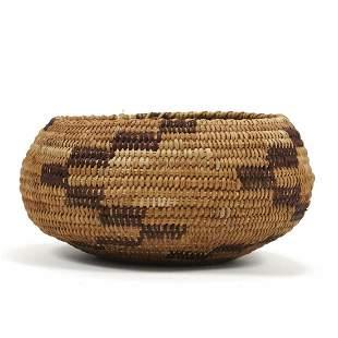 Pomo Native American California Basket
