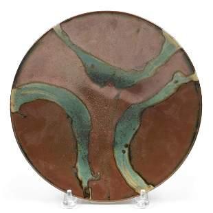 Shoji Hamada Style Studio Pottery Platter