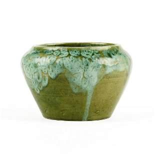 Judson T. Webb Chicago Arts & Crafts Pottery Vase