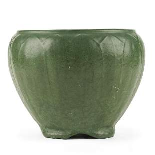 Weller Pottery Arts & Crafts Era Matte Green Jardiniere