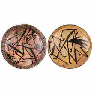 Curtis Hoard Stoneware Platters