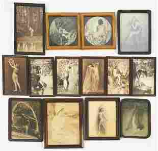 Large Group of Vintage Nude Photographs - Xan Stark