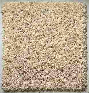 Creative Looms Linguini Wool & Suede Rug 7 x 7'