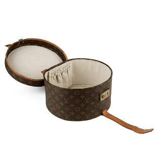 Louis Vuitton Hat Box w/ Lock