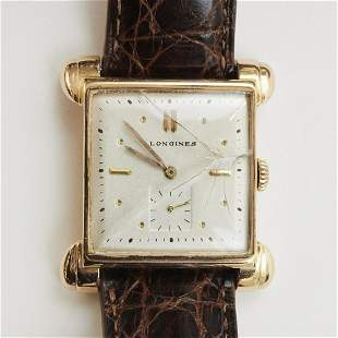 Longines 14K Gold Wristwatch