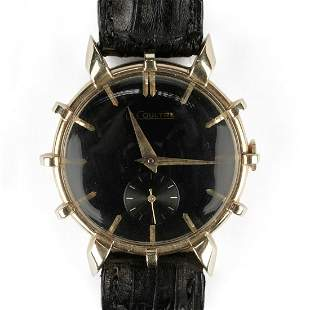 Le Coultre 14K Gold Wristwatch