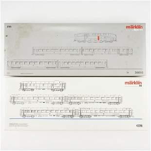 Grp: 2 Marklin HO Scale Trains - 26610 & 4228