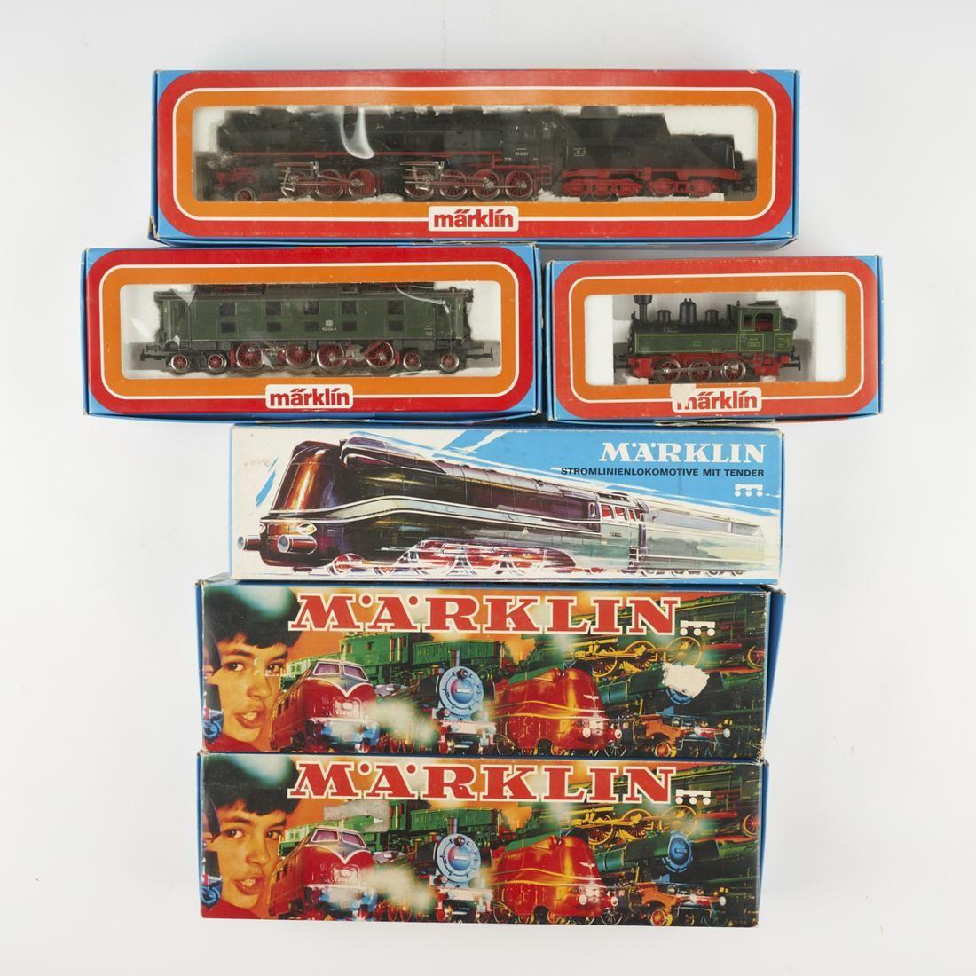Grp: 6 Marklin Electric Train Engines