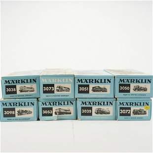Grp: 8 Marklin Electric Train Engines