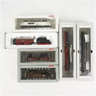 Grp: 6 Marklin HO Scale Model Digital Train Engines