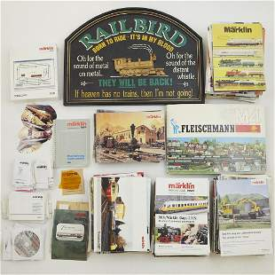 Grp: Marklin Model Train Books DVDs Plaque - 229 pcs