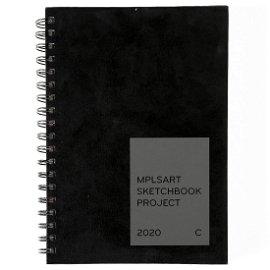 MPLSART Sketchbook Project 2020 Sketchbook C