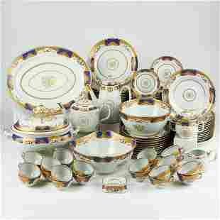 Mottahedeh Rockefeller Golden Butterfly Porcelain