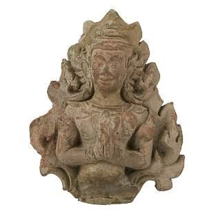 18/19th c. Thai Buddha Architectural Fragment