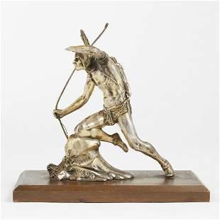 Weidlich Bros Native American Metal Sculpture A.J.