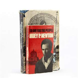 Grp: 2 First Edition Huey P. Newton Novels -