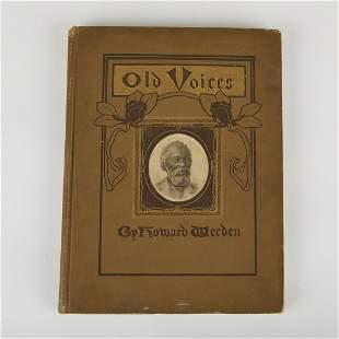Maria Howard Weeden 1904 Book Old Voices