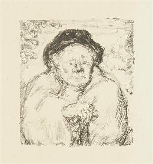 """Pierre Bonnard """"Portrait of a Man"""" from Daphnis et"""