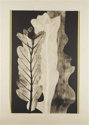 "Eugene Larkin ""Transformations"" Woodcut Print"