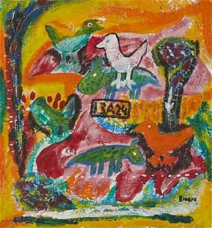 Lrg Grp: 20 Cuban Paintings & Prints