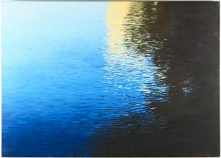 """Youngbae Kim """"Reflection"""" Oil on Canvas"""