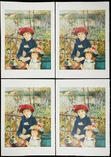 """Grp: 4 After Pierre-Auguste Renoir """"Sur la Terrasse"""""""