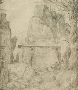 Albrecht Durer St. Jerome by the Pollard Willow