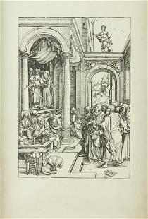 "Albrecht Durer ""The Presentation of the Virgin in the"
