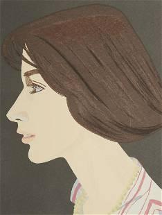 """Alex Katz """"Susan"""" Lithograph Print"""