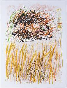 """Joan Mitchell """"Flower I - Bedford"""" Lithograph 1981"""