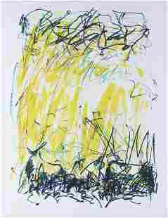 """Joan Mitchell """"Sides of a River II - Bedford"""""""