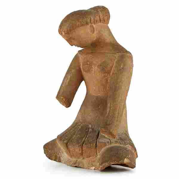 Terracotta Figure of a Woman GG