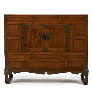 Korean Cabinet with Paktong Mounts