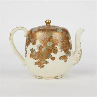 Yabu Meizan Satsuma Teapot