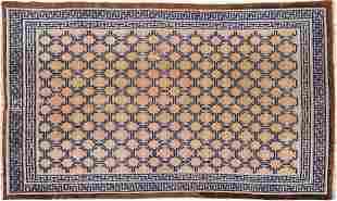 19th c. Chinese Ningxia Wool Rug