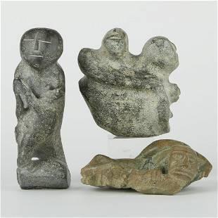 Grp: 3 Luke Anowtalikt Inuit Carvings