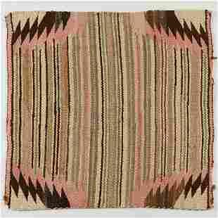 Navajo Saddle Blanket Weaving
