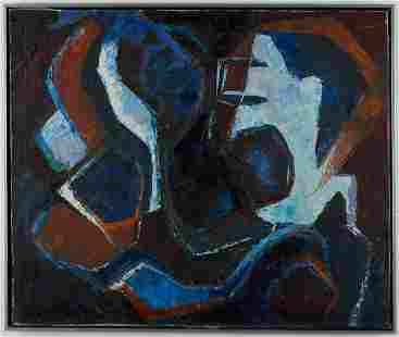 Unsigned MCM Abstract Painting