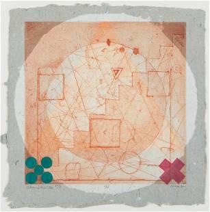 "Alan Shields ""China Doll"" Lithograph 1974"