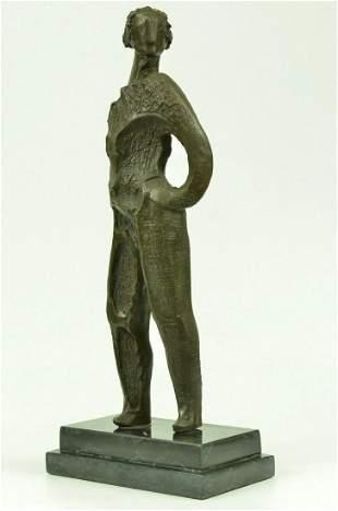 Bronze Sculpture by Dali Surrealist Abstract Modern Art