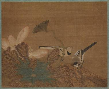 Ming dynasty bird painting by Wang Yuan