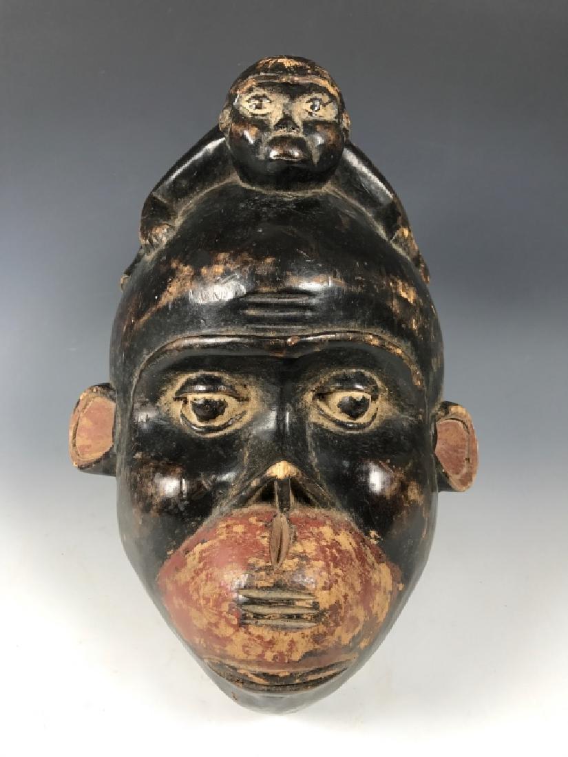 Baule Monkey Mask- Ivory Coast