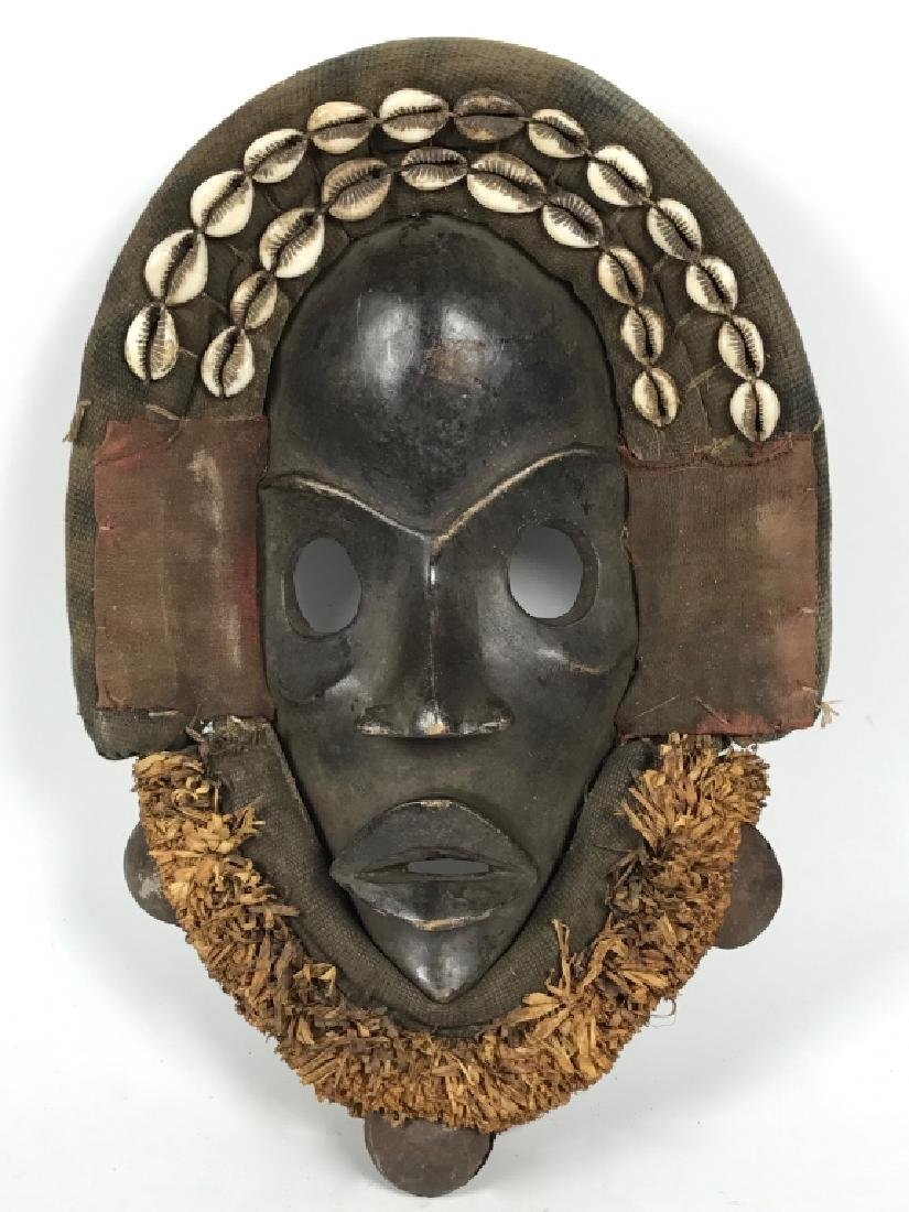 Dan Mask - Cowry Shell
