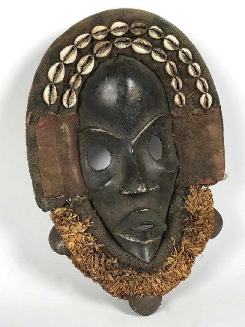 Dan Mask - Cowry Shell - 2
