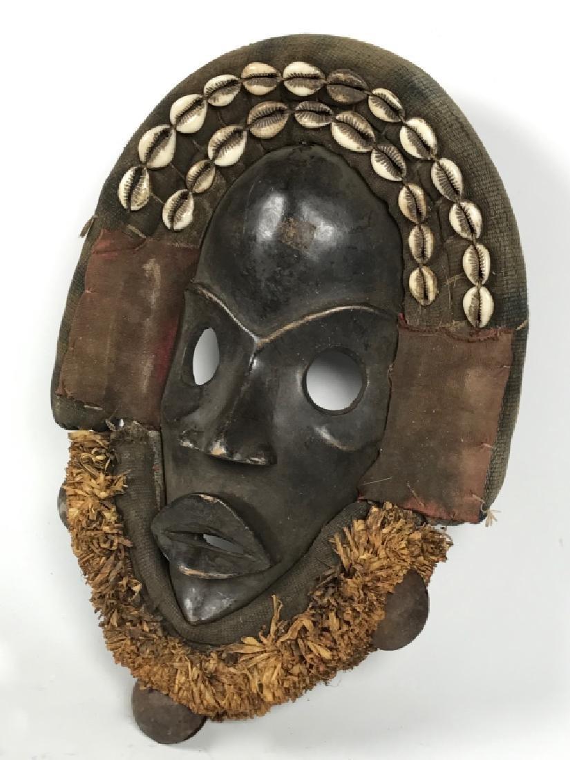 Dan Mask - Cowry Shell - 3