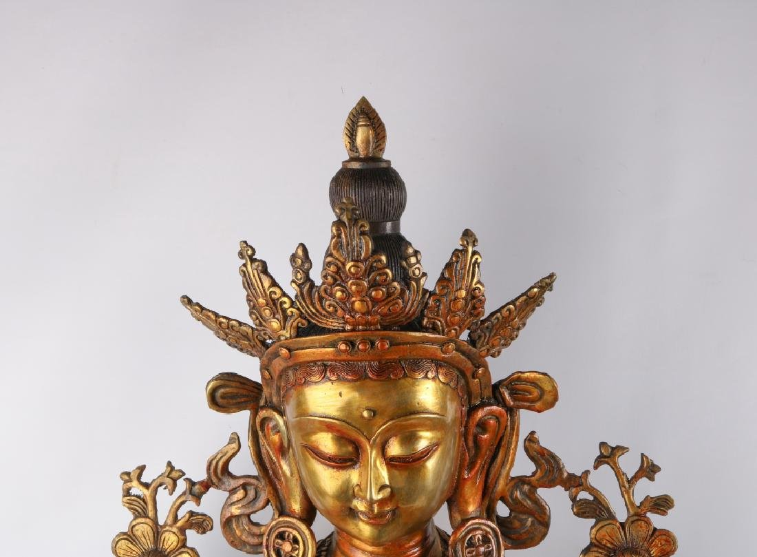 Gold Gilt Bronze Buddha - 2